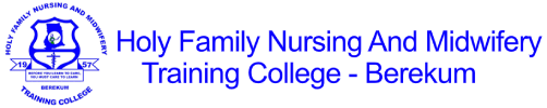 Holy Family Nursing And Midwifery Training College